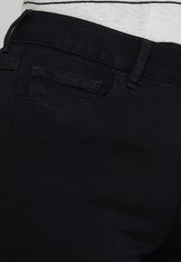 Vila - VICOMMIT - Jeans Skinny Fit - black - 5