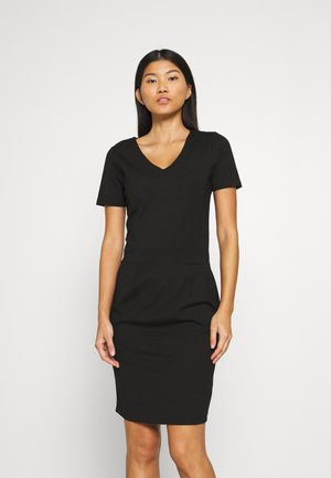 KAJULIANE DRESS - Etuikjoler - black deep