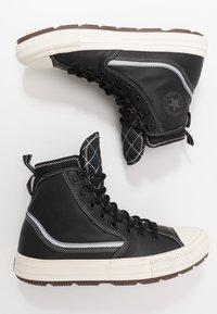 Converse - CHUCK TAYLOR ALL STAR TERRAIN UTILITY - High-top trainers - black/egret - 1
