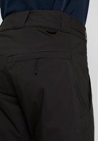 Peak Performance - MAROON - Spodnie narciarskie - black - 7