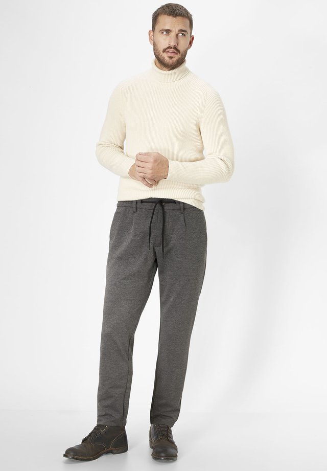 GRANDBY - Tracksuit bottoms - anthra