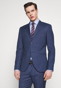 Isaac Dewhirst - BLUE TEXTURE SUIT - Oblek - blue - 2