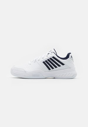 COURT EXPRESS CARPET - Carpet court tennis shoes - white/navy