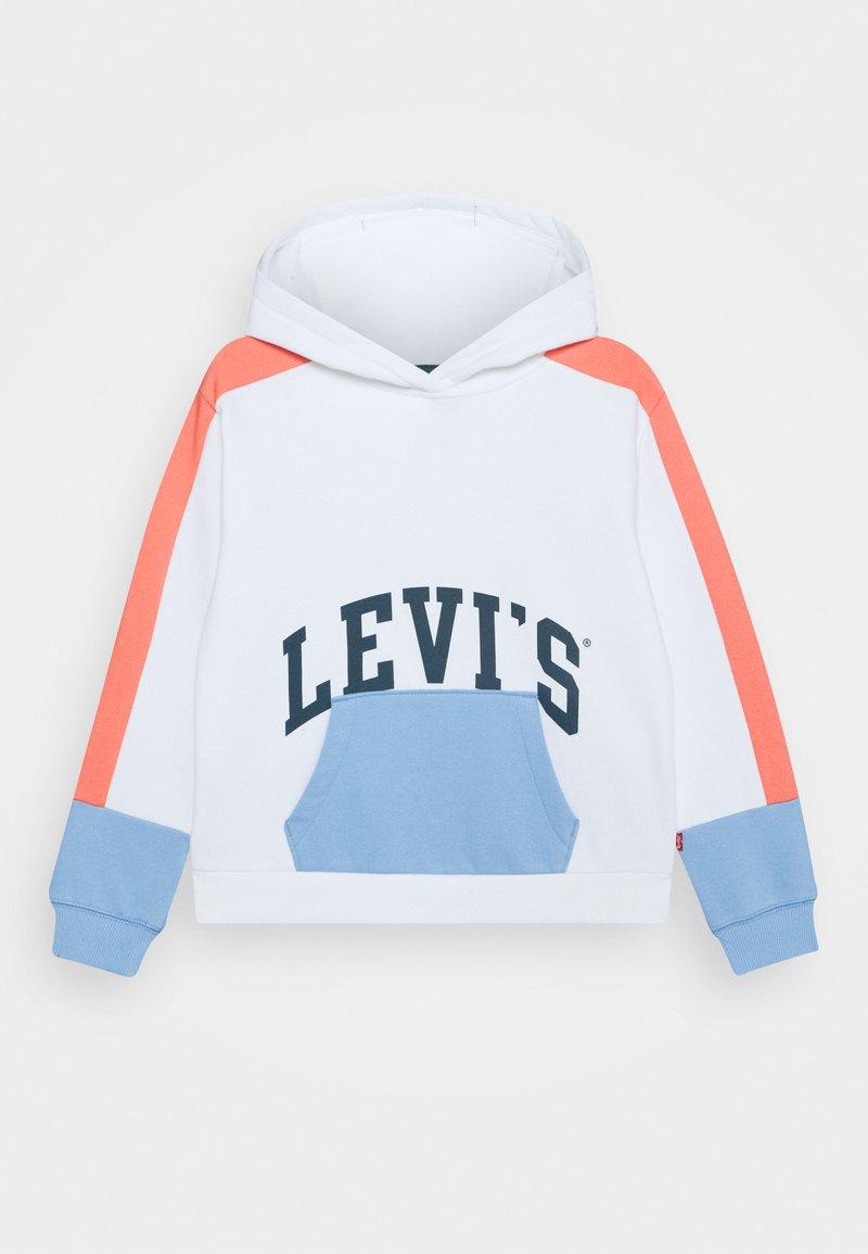 Levi's® - COLOR BLOCK HOODIE - Sweat à capuche - white