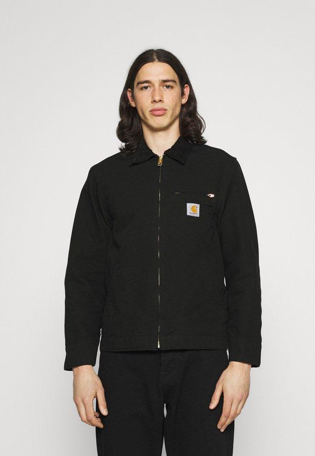 DETROIT JACKET DEARBORN - Summer jacket - black rinsed