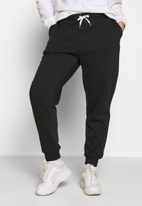 Even&Odd Curvy - Pantalones deportivos - black - 0