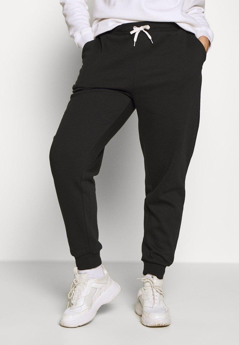Even&Odd Curvy - Pantalones deportivos - black