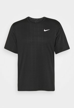 MILER EMBOSS - Print T-shirt - black