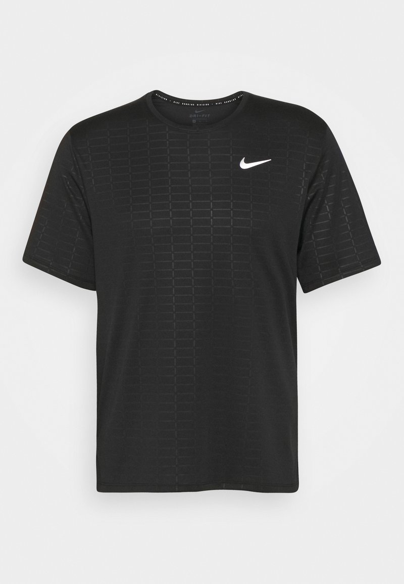 Nike Performance - MILER EMBOSS - T-shirts print - black
