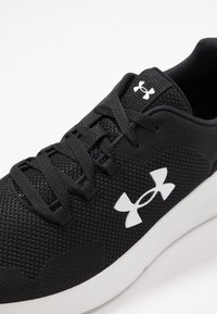 Under Armour - ESSENTIAL - Sports shoes - black/white - 5