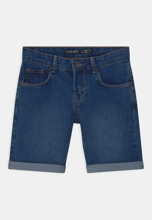 ZAC - Shorts vaqueros - blue