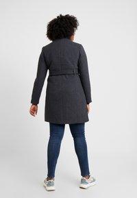 Vero Moda Curve - Manteau classique - dark grey melange - 2