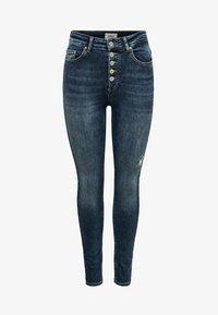 ONLY - ONLBLUSH - Jeans Skinny Fit - dark blue denim - 4