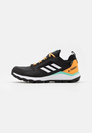 TERREX AGRAVIC TR GTX - Løpesko for mark - core black/footwear white/hazy orange