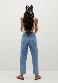 Mango - HAVANA - Straight leg jeans - middenblauw - 2