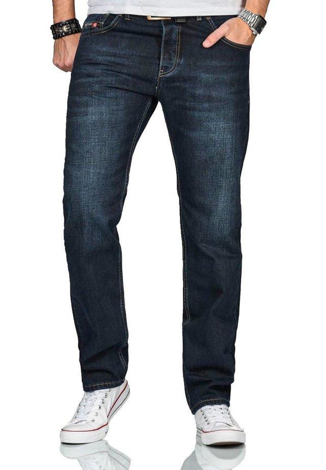 Straight leg jeans - dunkelblau
