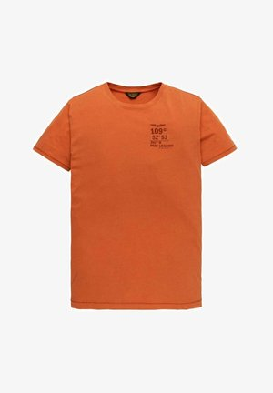 SHORT SLEEVE - Print T-shirt - orange