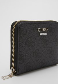 Guess - CATHLEEN SMALL ZIP AROUND - Wallet - coal - 2