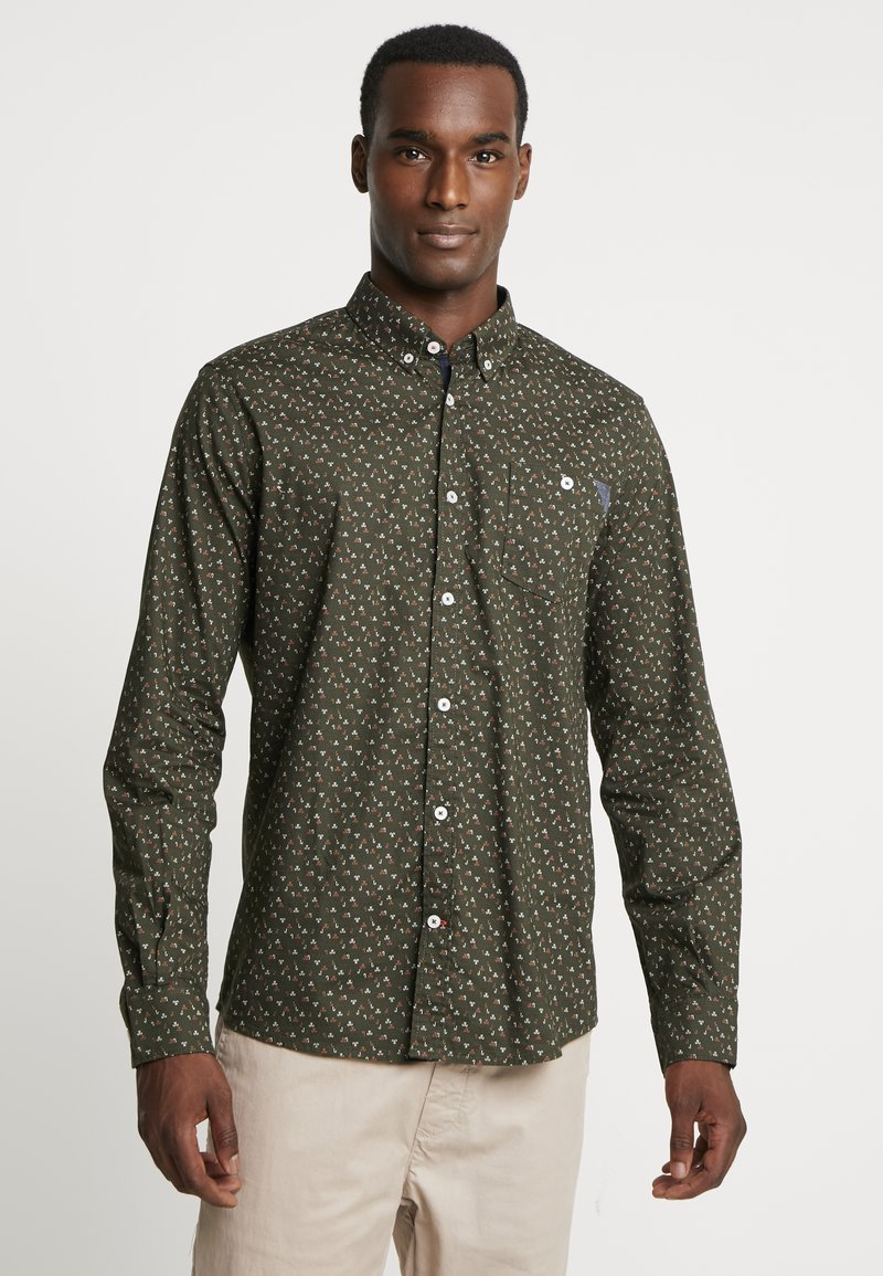 TOM TAILOR - FLOYD NAUTICAL - Shirt - olive