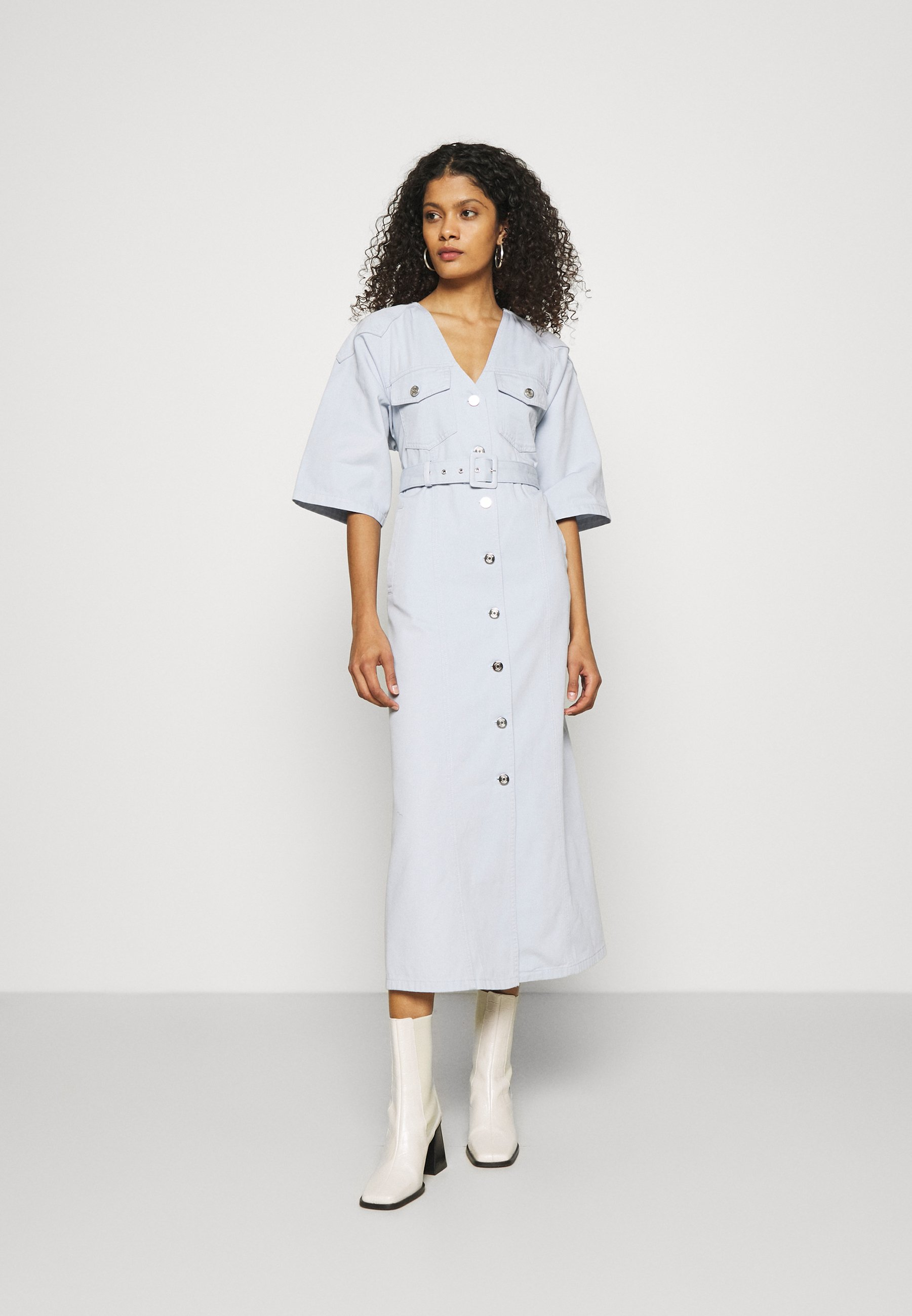 Women KATAGZ DRESS  - Denim dress