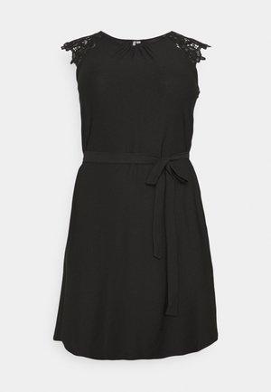 CARSILVA LIFE KNEE DRESS - Jerseykjole - black