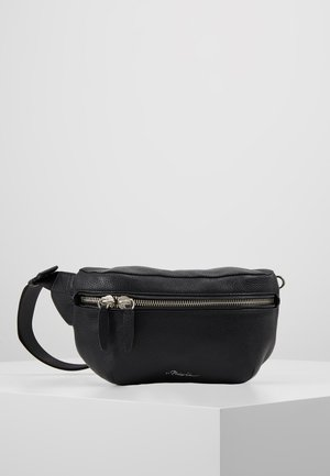SLIM BUMBAG - Bum bag - black