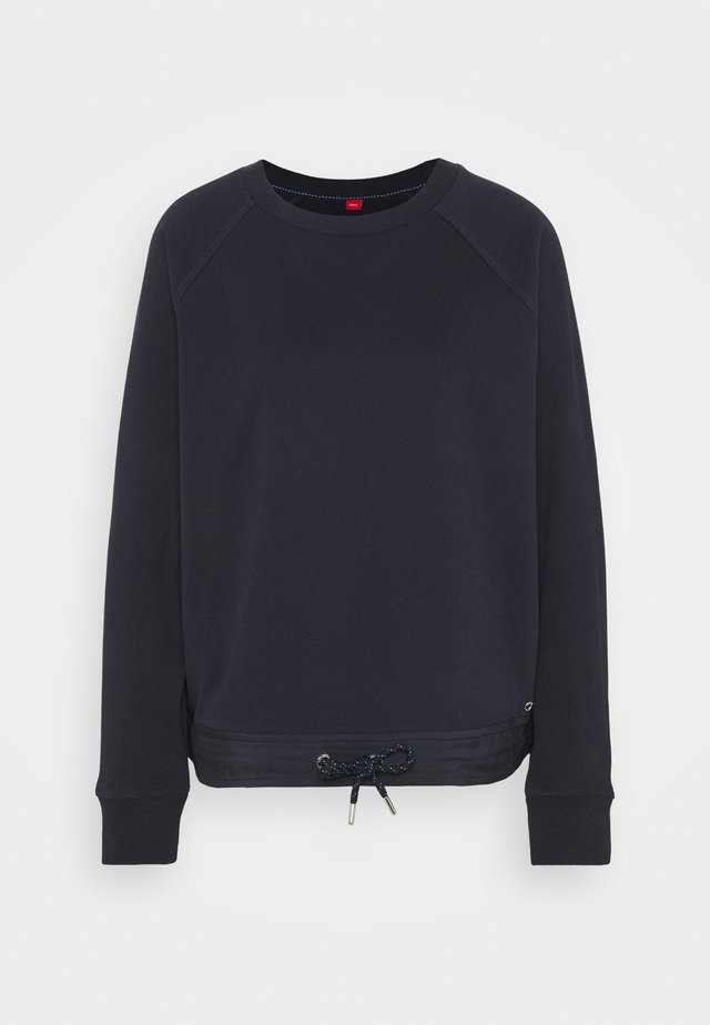 Langarm - Sweater - navy