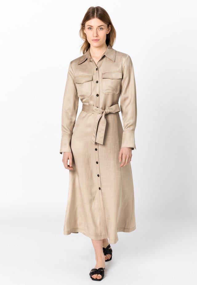 Robe chemise - brown