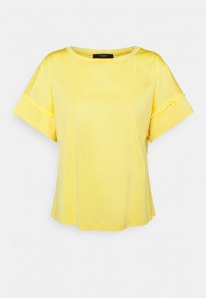 PALMA - Basic T-shirt - gelb