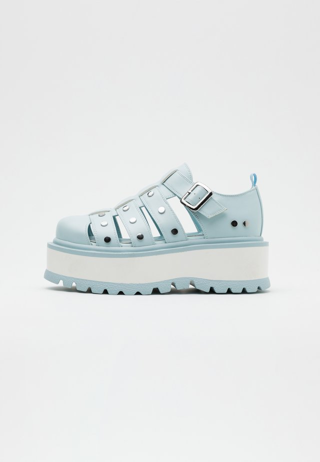 VEGAN RELAY - Loaferit/pistokkaat - light blue