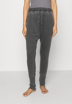 COZY ALL DAY HAREM LEGGIN - Pyjama bottoms - washed black
