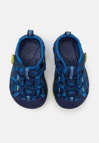 Keen - NEWPORT H2 UNISEX - Tursandaler - blue depths/chartreuse - 3