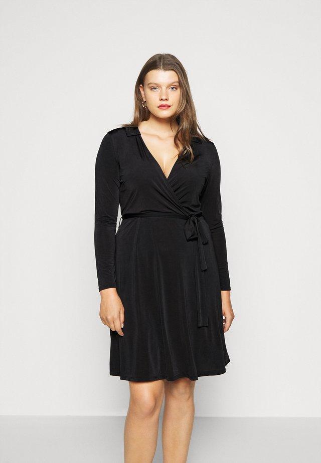 Robe en jersey - black