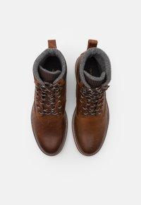 GANT - RODEN - Lace-up ankle boots - cognac - 3