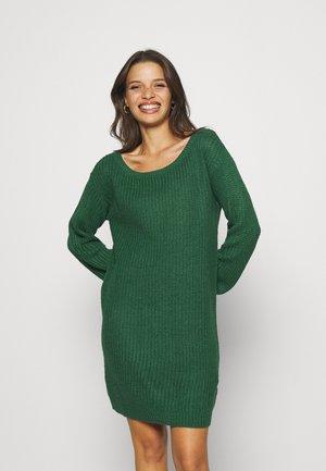 AYVAN OFF SHOULDER JUMPER DRESS - Jumper dress - dark green