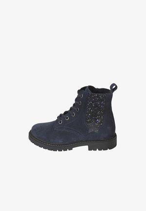 MÄDCHEN BOOTS - Lace-up ankle boots - marine