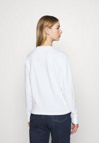 Tommy Jeans - FLAG  - Långärmad tröja - white - 2