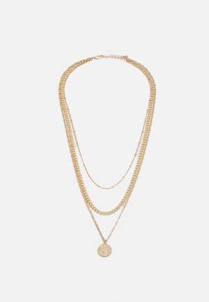 PCKEKKI COMBI NECKLACE - Necklace - gold-coloured