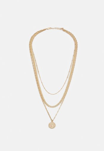 PCKEKKI COMBI NECKLACE - Necklace - gold-coloured