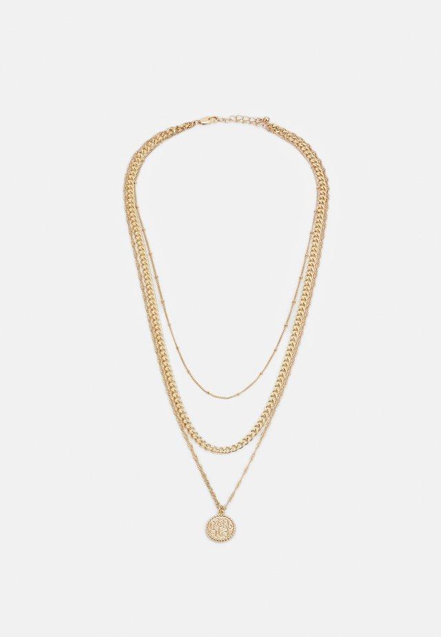 PCKEKKI COMBI NECKLACE - Smykke - gold-coloured