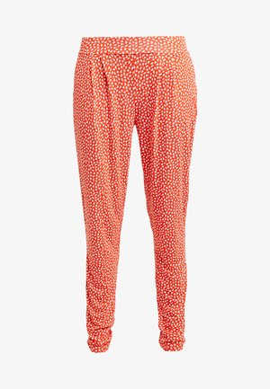 Pyjama bottoms - orange/creme