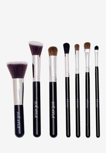 7PCS PROFESSIONAL BRUSH SET - Makeup brush set - black