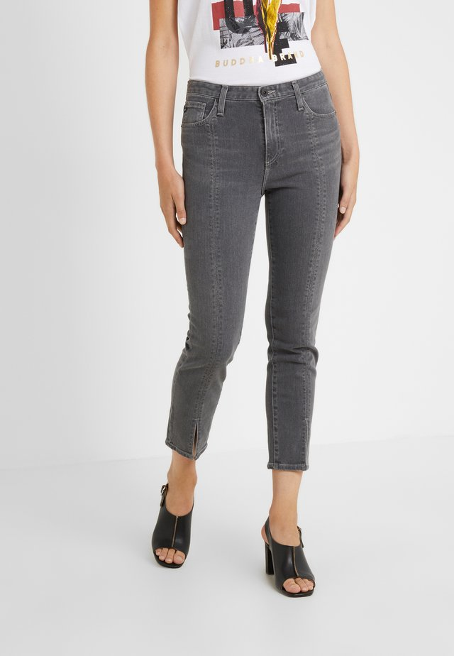 ISABELLE - Relaxed fit jeans - black ember