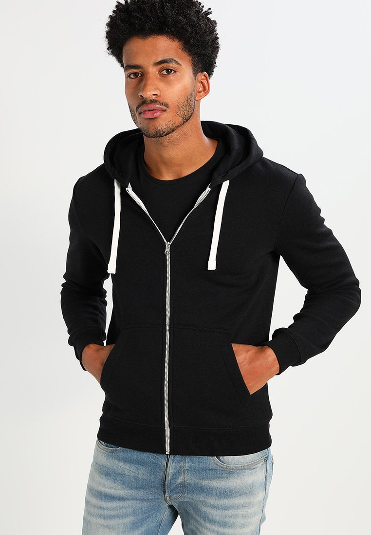 YOURTURN - Zip-up hoodie - black