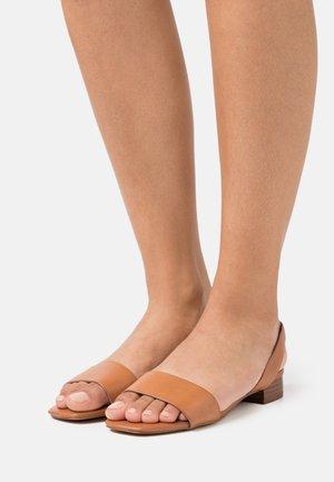 DOREDDA - Sandals - cognac
