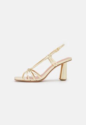 OPORTO - Sandals - gold