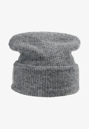 Mössa - medium grey melange