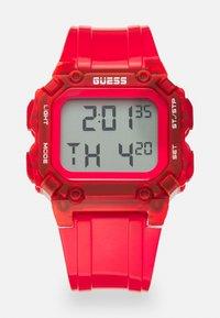 Guess - UNISEX - Digitální hodinky - red - 0