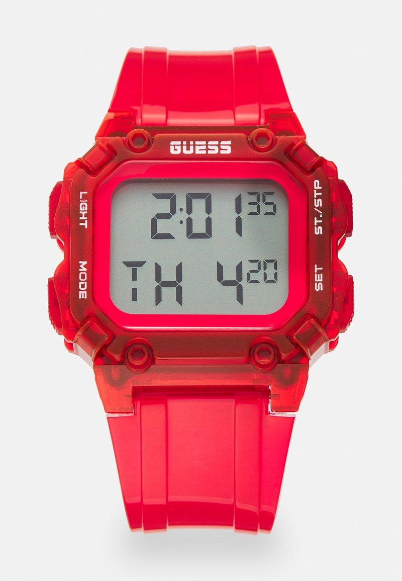 Guess - UNISEX - Digitální hodinky - red