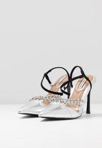 River Island - Zapatos altos - silver - 4